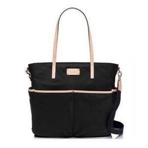 Kate Spade Kennedy Park Black Nylon Diaper Bag